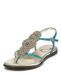 VINCE CAMUTO Sandals - Allik Beaded Flat Sandals