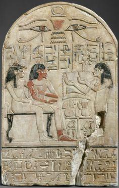 Egypt, New Kingdom, Dynasty 18, Reign of Amenhotep II–Thutmose IV ( Limestone, paint)    The Metropolitan Museum of Art, New York
