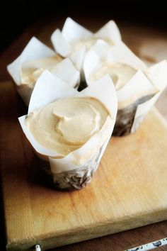 Maple Spice Cupcake with Maple Cream Cheese Frosting