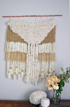 Hey, I found this really awesome Etsy listing at https://www.etsy.com/listing/200174550/canyon-falls-weaving-woven-wall-hanging