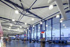Oulun lentokentän Kerto-Ripa-katto / Oulu Airport Roof