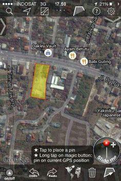 Land size 40 are, frontage wide 30 m, @ main bypass ngurah rai, mumbul Nusa Dua ex Angsa Putih, price idr 2.5 billions/are