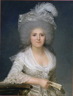 Jeanne Louise Henriette Campan (née Genet (1752-1822) French educator, writer & lady-in-waiting. In the service of Marie Antoinette before & during the French Revolution. She was with Marie during the storming of the Tuileries on 10 August 1792, in which she was forcibly separated from the queen. She survived the dangers of the Reign of Terror