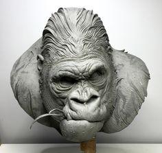 ArtStation - Gorilla, Tomek Radziewicz