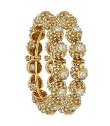Buy Traditional Pearl Wedding Bangle Imitation Jewellery bangles-and-bracelet online