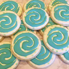 Moana Party, Moana Theme, Moana Birthday Party, 6th Birthday Parties, 3rd Birthday, Birthday Ideas, Moana Y Maui, Moana Cookies, Princess Tea Party