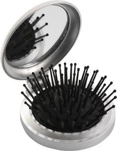 Haarborstel met spiegel bedrukken #haarborstel #relatiegeschenk #welness #bedankje #spiegeltje
