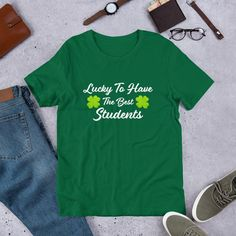 Lucky Sales Manager Who Loves Beer St Patricks Day Graphic Sweatshirt