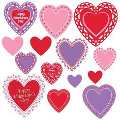 The Beistle Company 14 Piece Valentine's Day Standup Set Valentines Day For Boyfriend, Valentines Day Hearts, Valentine Day Cards, Valentines Baking, Valentine Ideas, Greeting Card Companies, Diy Crafts For Girls, Christmas Central, Valentines Day Decorations
