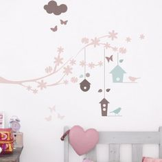 Wall stickers Bird Houses