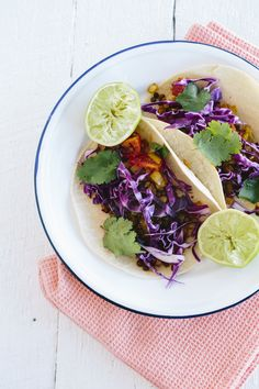 Lentil Tacos With Creamy Lime Dressing | FOOD MATTERS®
