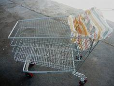 Bevásárlókocsi huzat univerzális