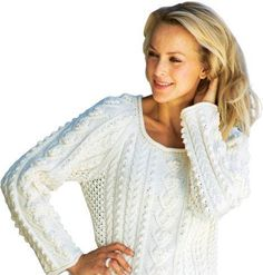 Jubii Mail :: Vi tror, at du vil synes om disse pins Crochet Pattern, Knitting Patterns, Lace Knitting, Knitting Sweaters, Drops Design, Bobler, Knit Jacket, Alter, Slipcovers