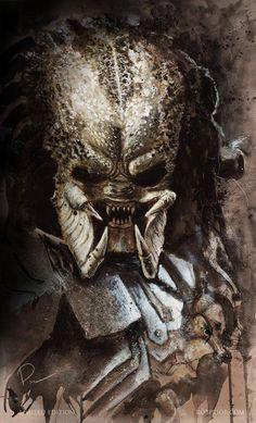 Predator - art by Rob Prior robprior.com