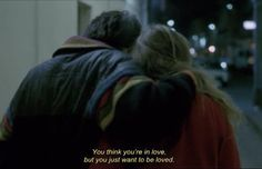 Quote from À nos amours(1983), picture unkown(??)
