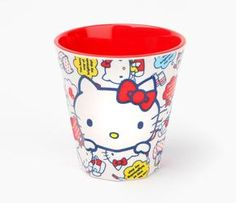 Hello Kitty Melamine Cup: Bright Day