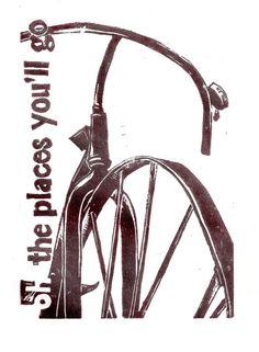 vintage bike art @ sweetgee.com