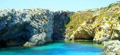 An idyllic lagoon, Gozo