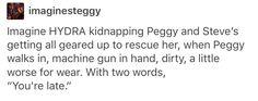 Steggy Peggy carter Steve Rogers