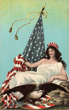 Whatever happened to Lady Liberty? I haven't seen her image in years.
