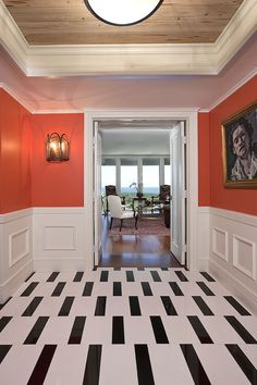 Key Biscayne Penthouse - eclectic - hall - miami - Mackle Construction