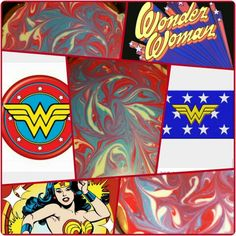 Wonder Woman Cheesecake