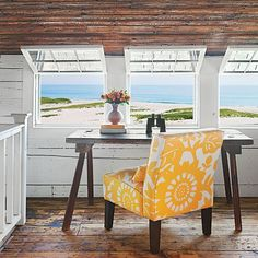 Open-Air Office - 20 Beautiful Beach Cottages - Coastal Living