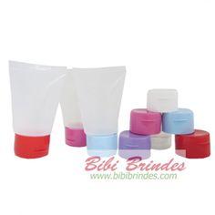 Tampa para Bisnaga Plástica Transparente 30ml e 60 ml - Diversas Cores  - foto principal 1