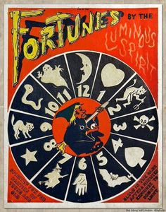 Fortunes by the Luminous Spirit (1940s-1950s). Blogging entry on The Sane Halloween Observer.