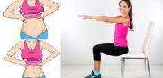 Vous n'avez pas le temps de faire du sport ?! Voici un exercice révolutionnaire qui vous permettra de retrouver un ventre plat sans bouger de votre chaise !!
