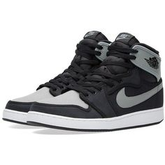 f37c4d9e070 Nike Air Jordan KO High OG ($150) ❤ liked on Polyvore featuring mens fashion