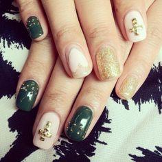 army inspired ish nails