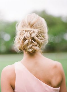 relaxed up do | Eric Kelley #wedding