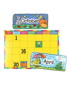 Take a look at the Kid Drawn Calendar Set on #zulily today!