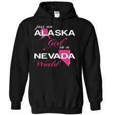 ALASKA GIRL IN NEVADA T-Shirts, Hoodies. Get It Now ==>…