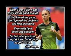 Soccer Memes, Soccer Tips, Soccer Goals, Soccer Drills, Funny Soccer, Soccer Workouts, Alex Morgan Quotes, Inspirational Soccer Quotes, Motivational Quotes