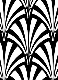 Image result for art deco patterns to colour ebay