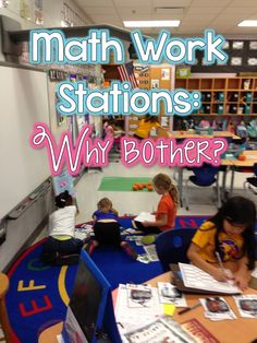 Math Workstations PART 1: The WHY - Queen of the First Grade Jungle