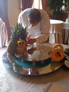 Fruit composition by Chef Aldo!