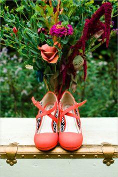 d9f27fc232b900 orange wedding shoes #weddingshoes @weddingchicks Schémas De Couleurs De  Mariage, Couleurs De Mariage