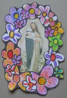 mary picture frame