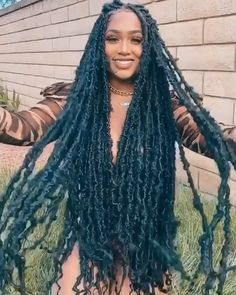 Big Box Braids Hairstyles, Faux Locs Hairstyles, Twist Braid Hairstyles, Black Girl Braids, Braided Hairstyles For Black Women, African Braids Hairstyles, Baddie Hairstyles, Braids For Black Hair, Protective Hairstyles