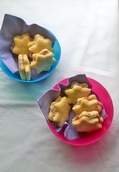 Το μυαλό στο... φαγητό!: Μπισκοτάκια με πούδρα αμυγδάλου!