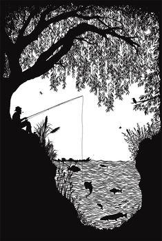 Ted Baker: A Baker's Dozen - Laura Barrett - Illustration Portfolio - London Based Freelance Silhouette & Pattern Illustrator
