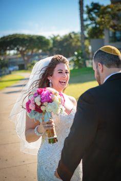 Nicole & Adrian - 12.31.15  #wedding #newyearsevewedding #sandiegowedding #weddings #tablescape #pinkbouquet #socalwedding #bride