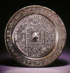 Bronze Mirror, Bronze Age, Chinese Art, Chinese Style, Magic Mirror, Ancient China, Ancient Artifacts, Chinese Antiques, Asian Art