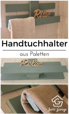 Handtuchhalter Aus Paletten, Handtuchhalter Badezimmer, Handtuchhalter  Selber Machen, Handtuchalter DIY, Holz,