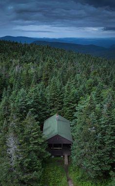 From the summit of Wakely Mountain, Adirondacks.