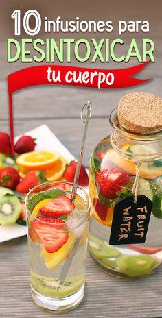 How to make detox smoothies. Do detox smoothies help lose weight? Learn which ingredients help you detox and lose weight without starving yourself. Full Body Detox, Detox Your Body, Healthy Detox, Healthy Drinks, Healthy Water, Carb Detox, Healthy Juices, Healthy Weight, Detox Kur