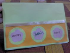 How to Make Pop Up Father's Day Card with Quotes